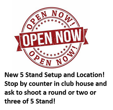 New 5 Stand Now Open